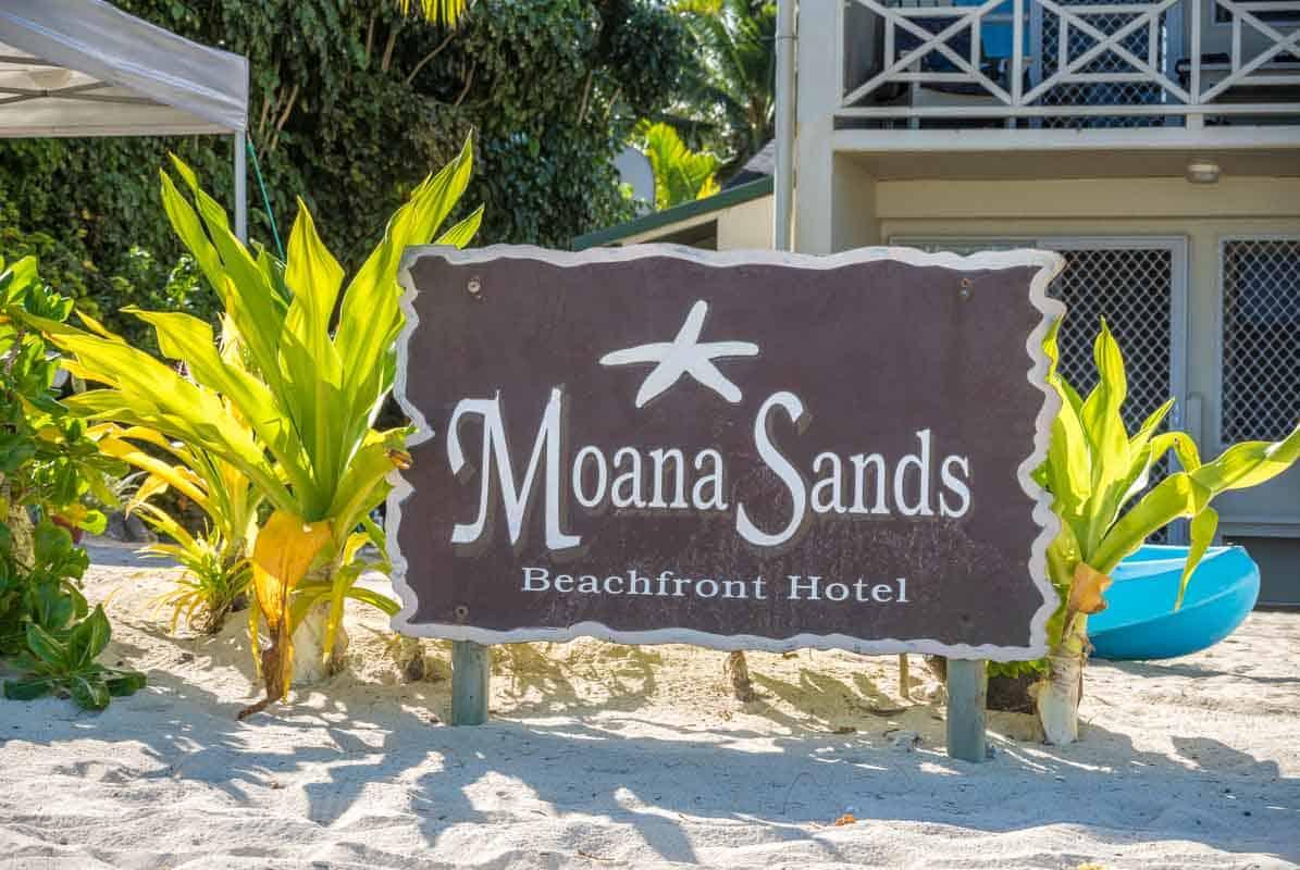 Anmeldelse af Moana Sands Beachfront Hotel & Villas, Cook Islands