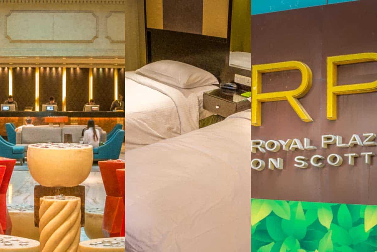 Anmeldelse af Royal Plaza on Scotts - Singapore