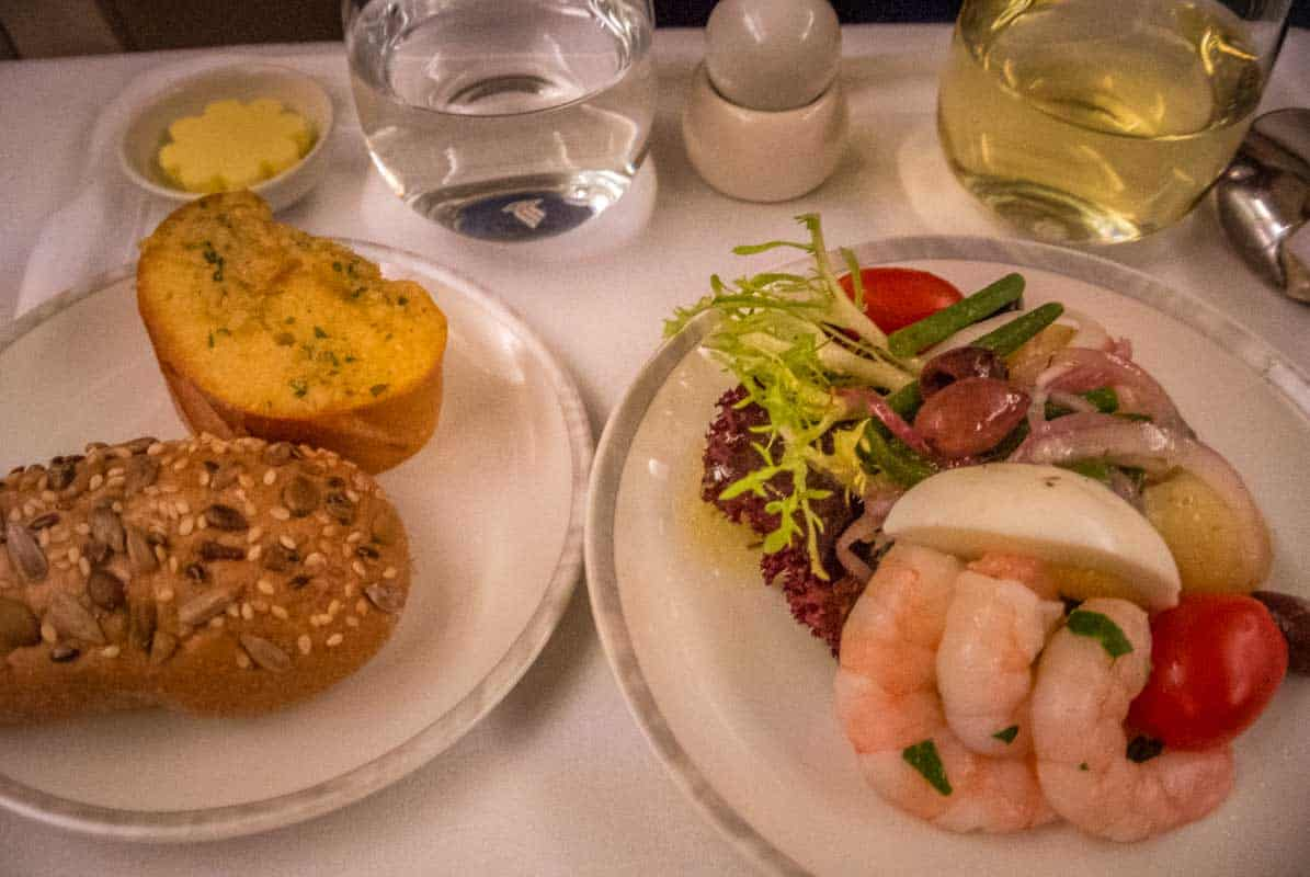 Anmeldelse af Singapore Airlines Business Class