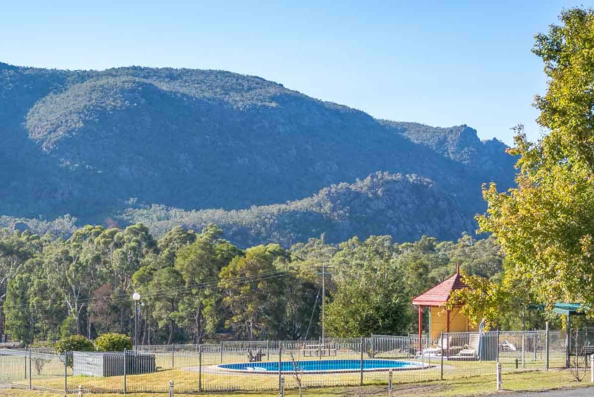 Anmeldelse af The Grampians Motel - Halls Gap, Australien
