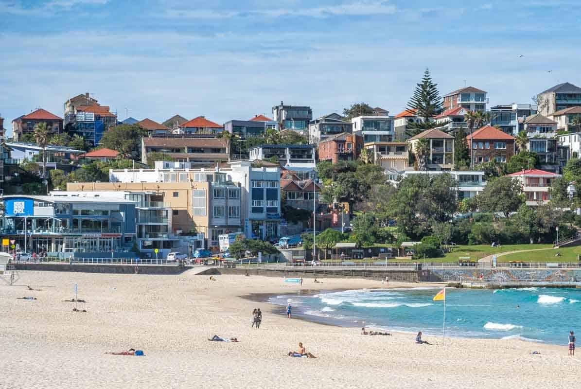 Bondi Beach den verdensberømte strand - Australien
