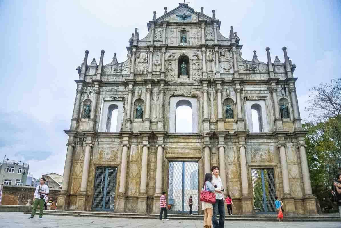 Den historiske portugisiske bydel - Macau