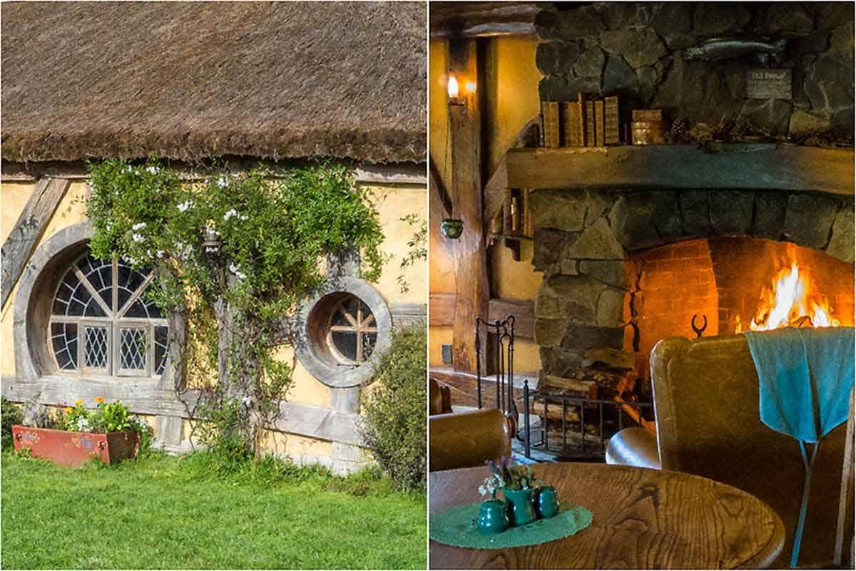 Filmkulissen Hobbiton movie set - Matamata, New Zealand