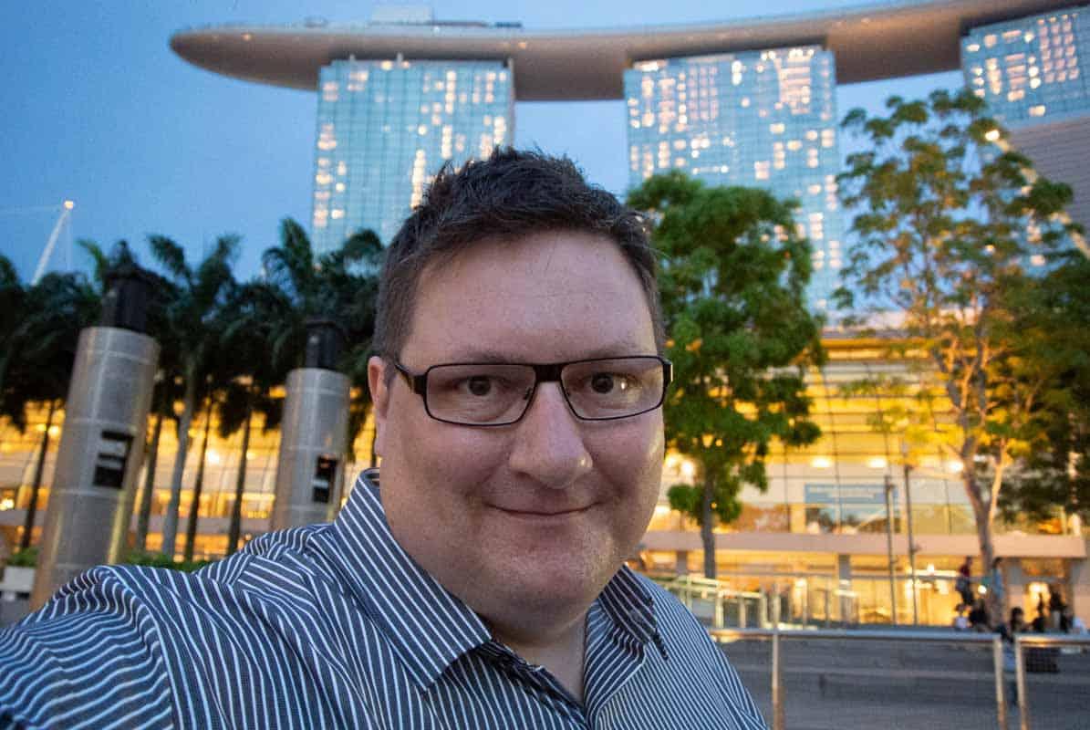 Marina Bay Sands er imponerende byggeri - Singapore