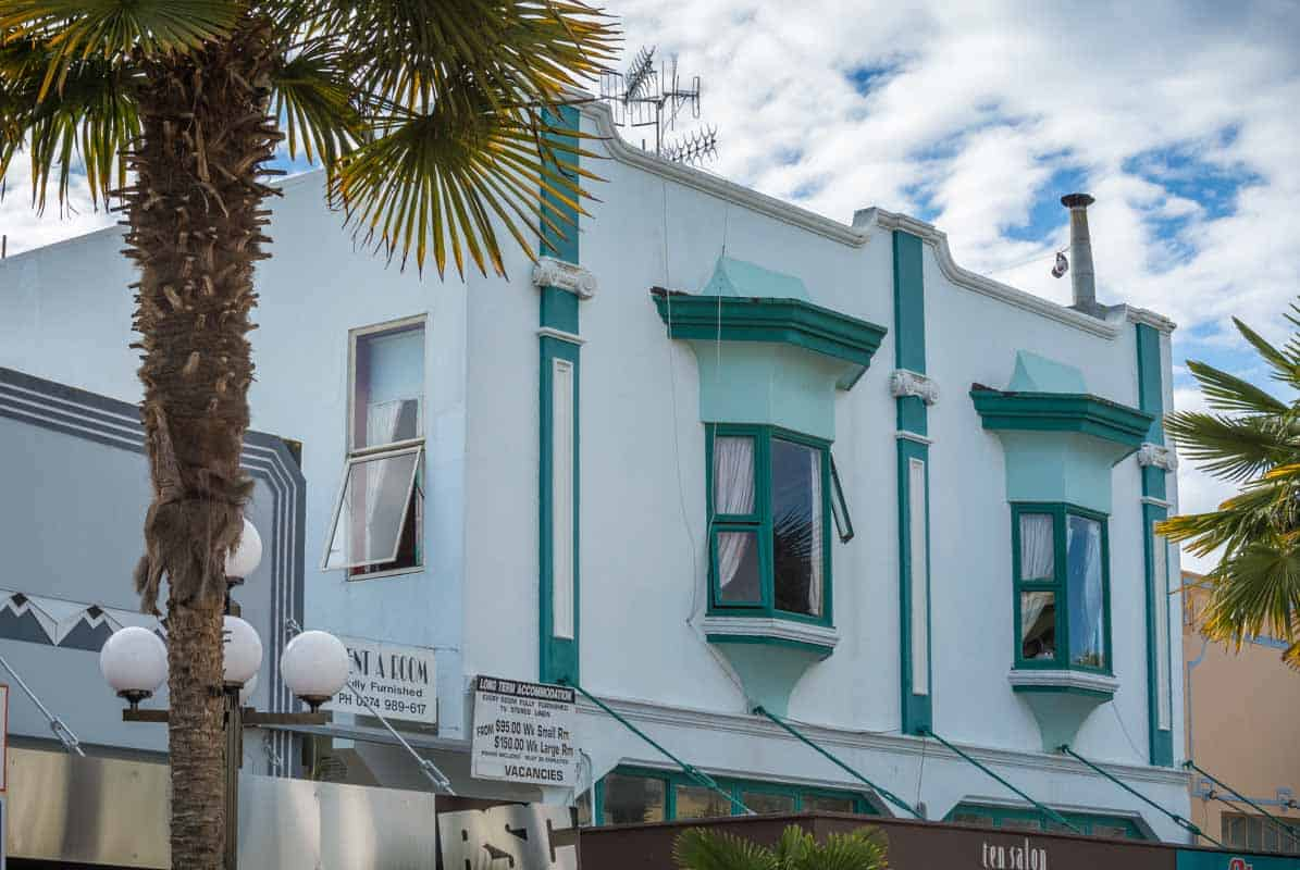Napier den smukke Art Deco by - New Zealand