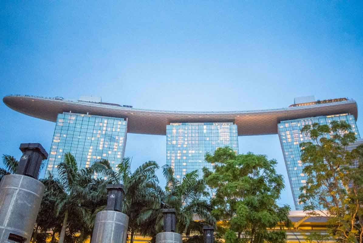 Rejsetanker om Singapore