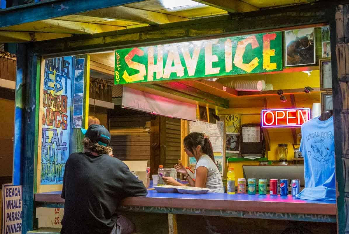 Shaved Ice Kihei er forfriskende - Maui, Hawaii