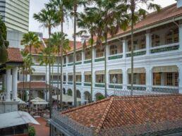 Singapore Sling på Raffles hotel - Singapore