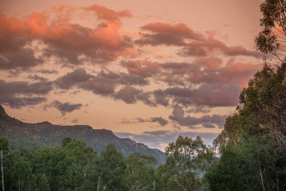 The Grampians National Park er dyreliv og smuk natur - Victoria, Australien