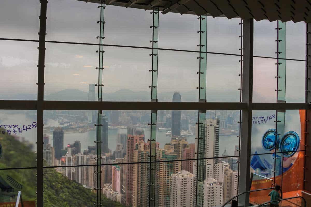 Victoria Peak et smukt udsigtspunkt - Hong Kong