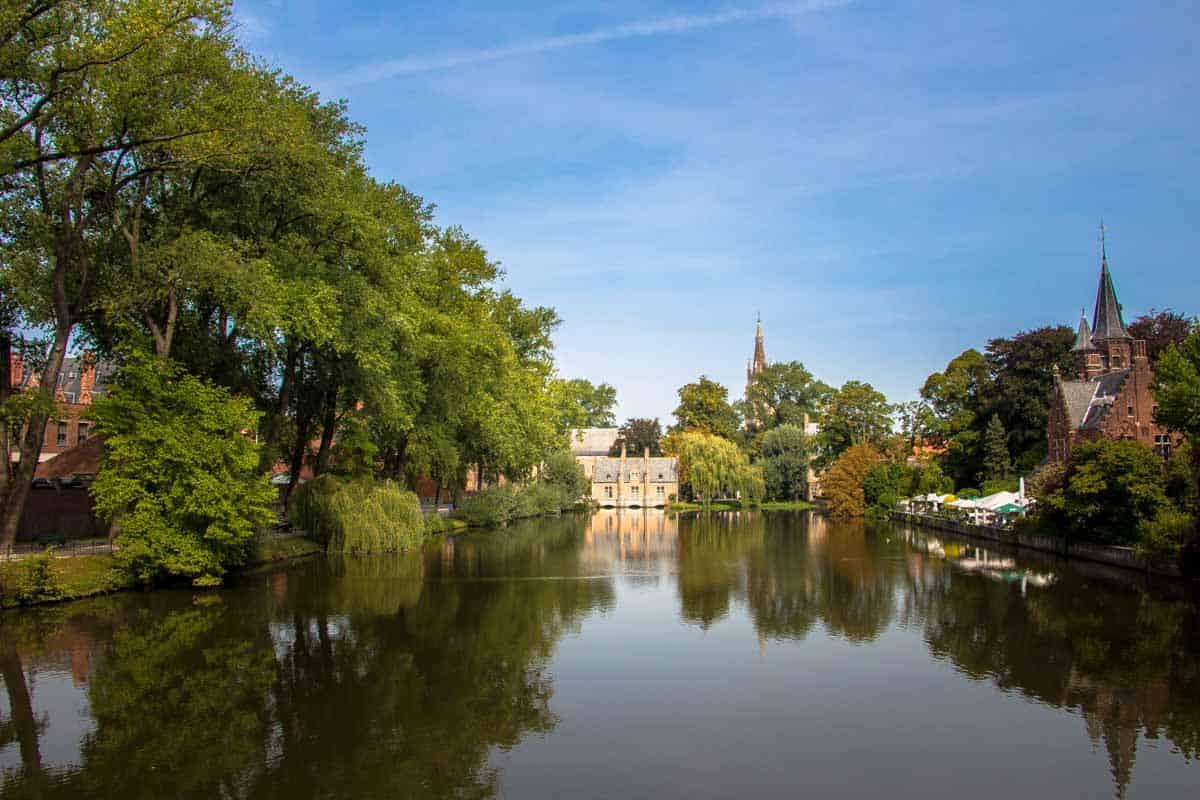 12 Postkort fra Flandern - Belgien