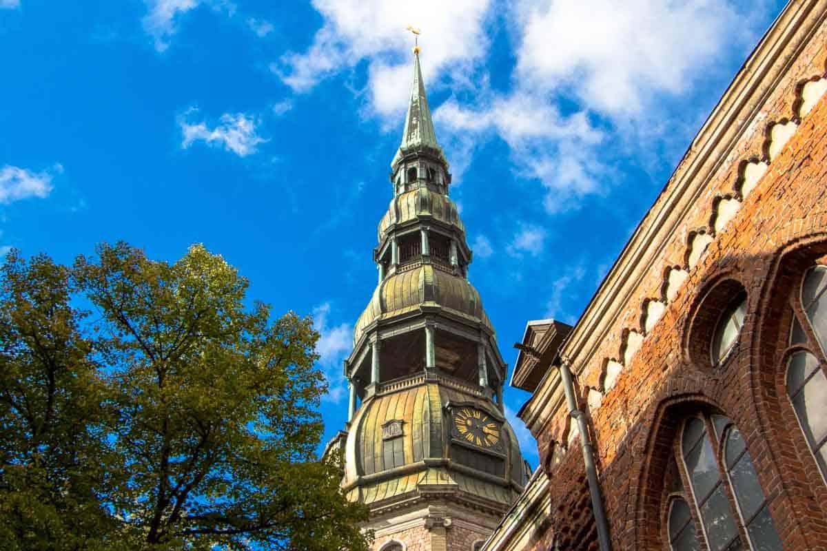 12 Postkort fra Riga - Letland