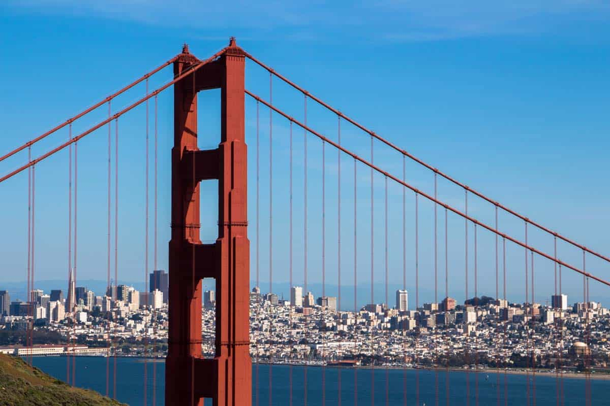 12 Postkort fra San Francisco USA