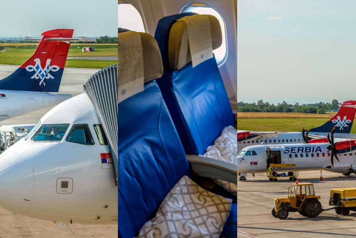 Anmeldelse af Air Serbia Economy Class