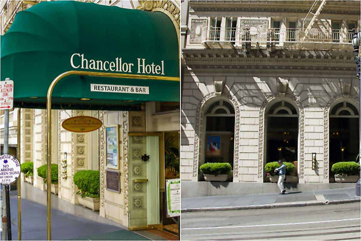 Anmeldelse af Chancellor Hotel on Union Square - San Francisco, USA