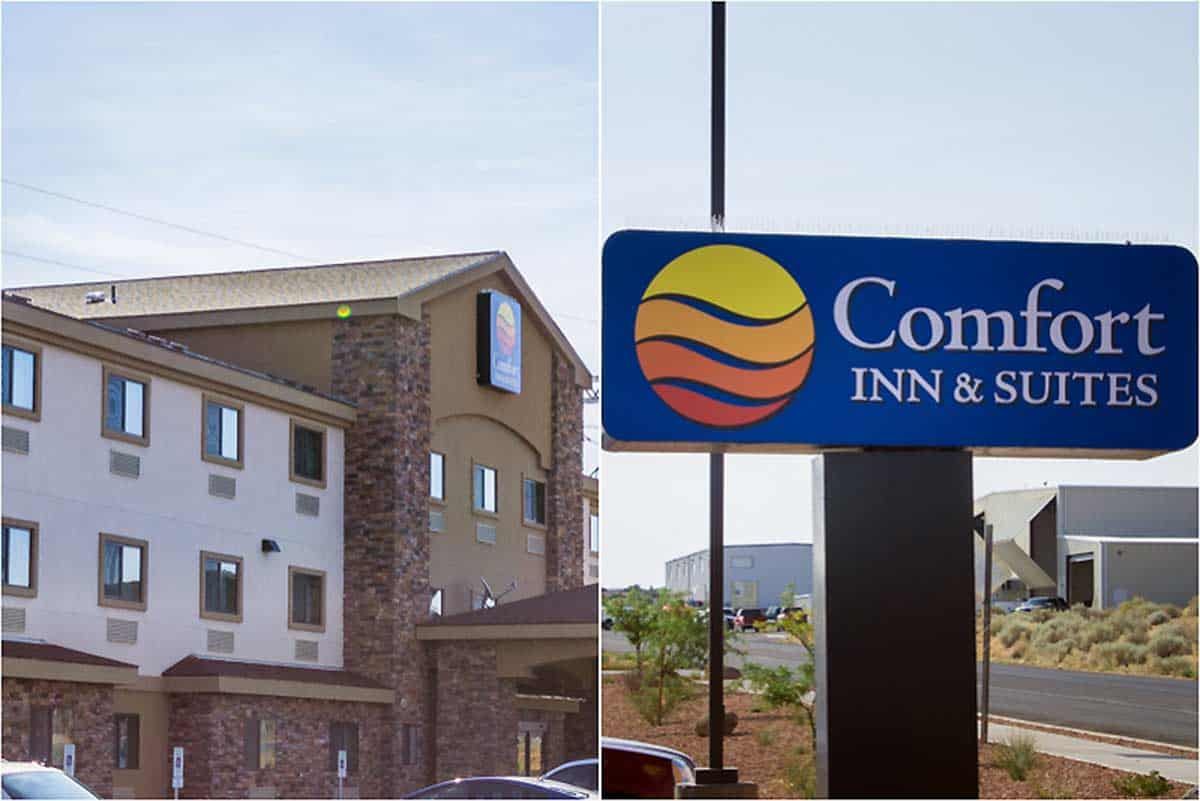 Anmeldelse af Comfort Inn & Suites Page at Lake Powell - USA