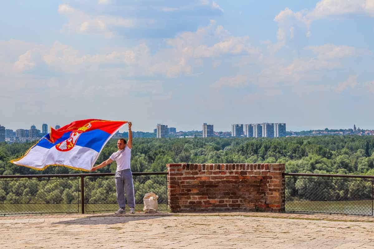 Belgrade Fortress og Kalemegdan parken - Beograd, Serbien