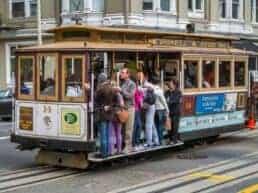 Cable Cars de historiske vogne - San Francisco, USA