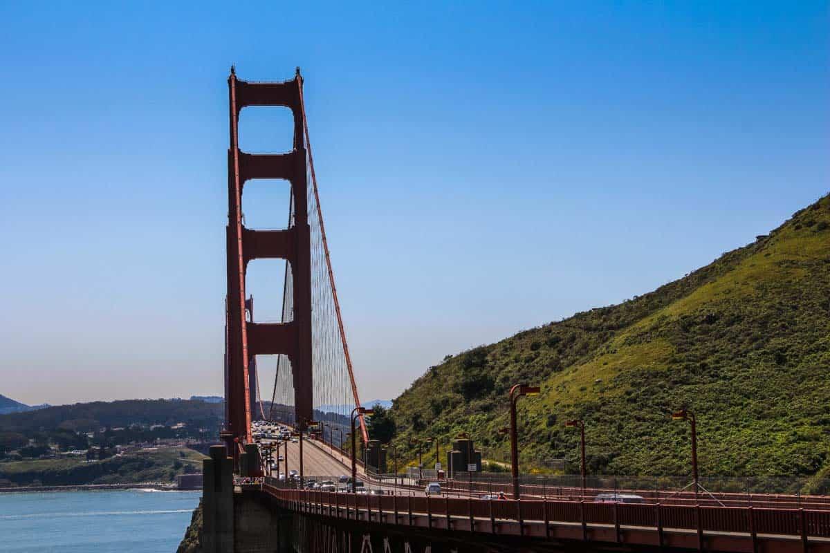 Golden Gate Bridge den ikoniske røde bro - San Francisco, USA