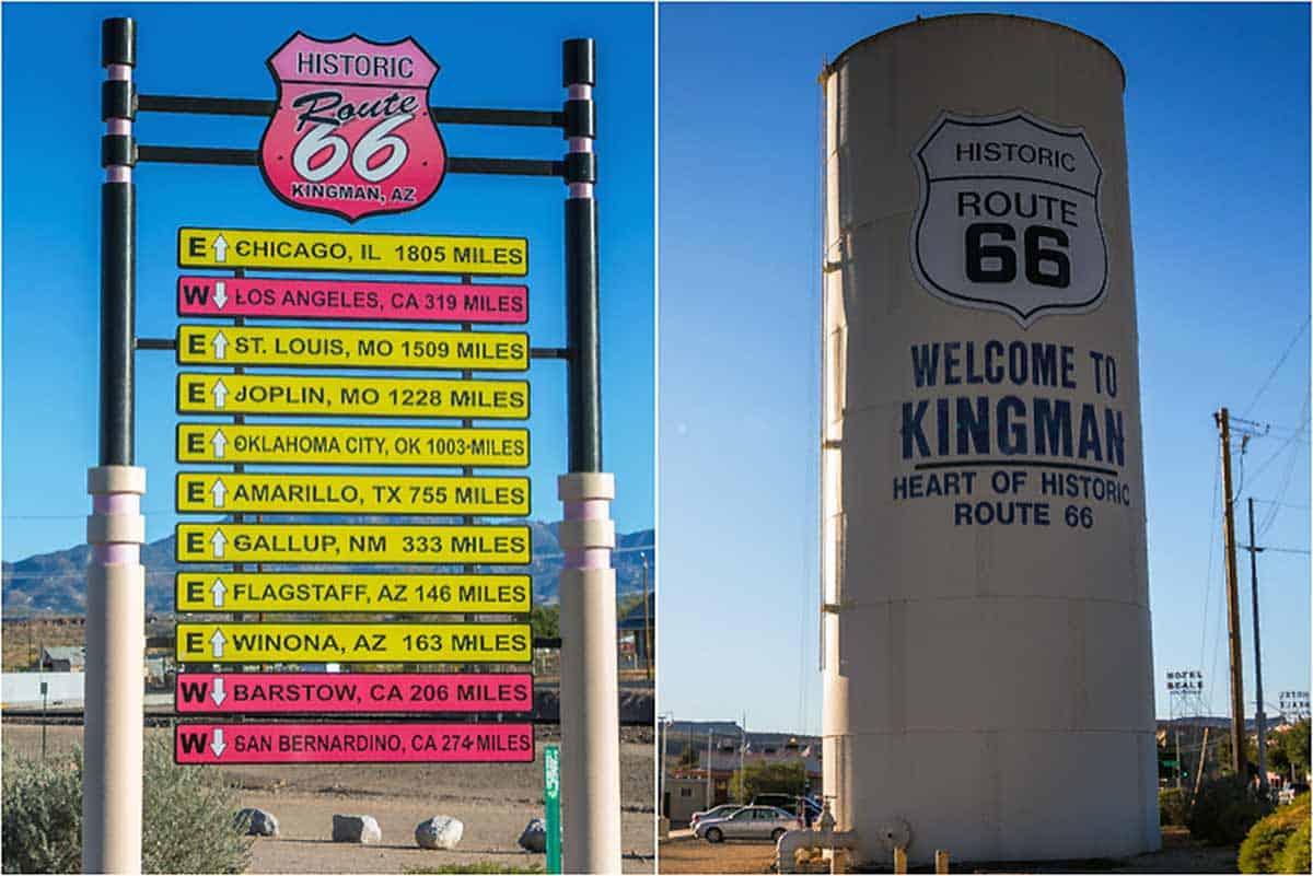 Kingman og Route 66 Museum - Arizona, USA