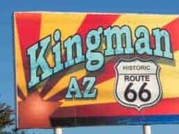 Kingman og Route 66 Museum - Arizona, USA
