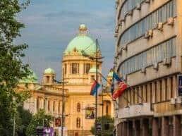 Rejsetanker om Serbien