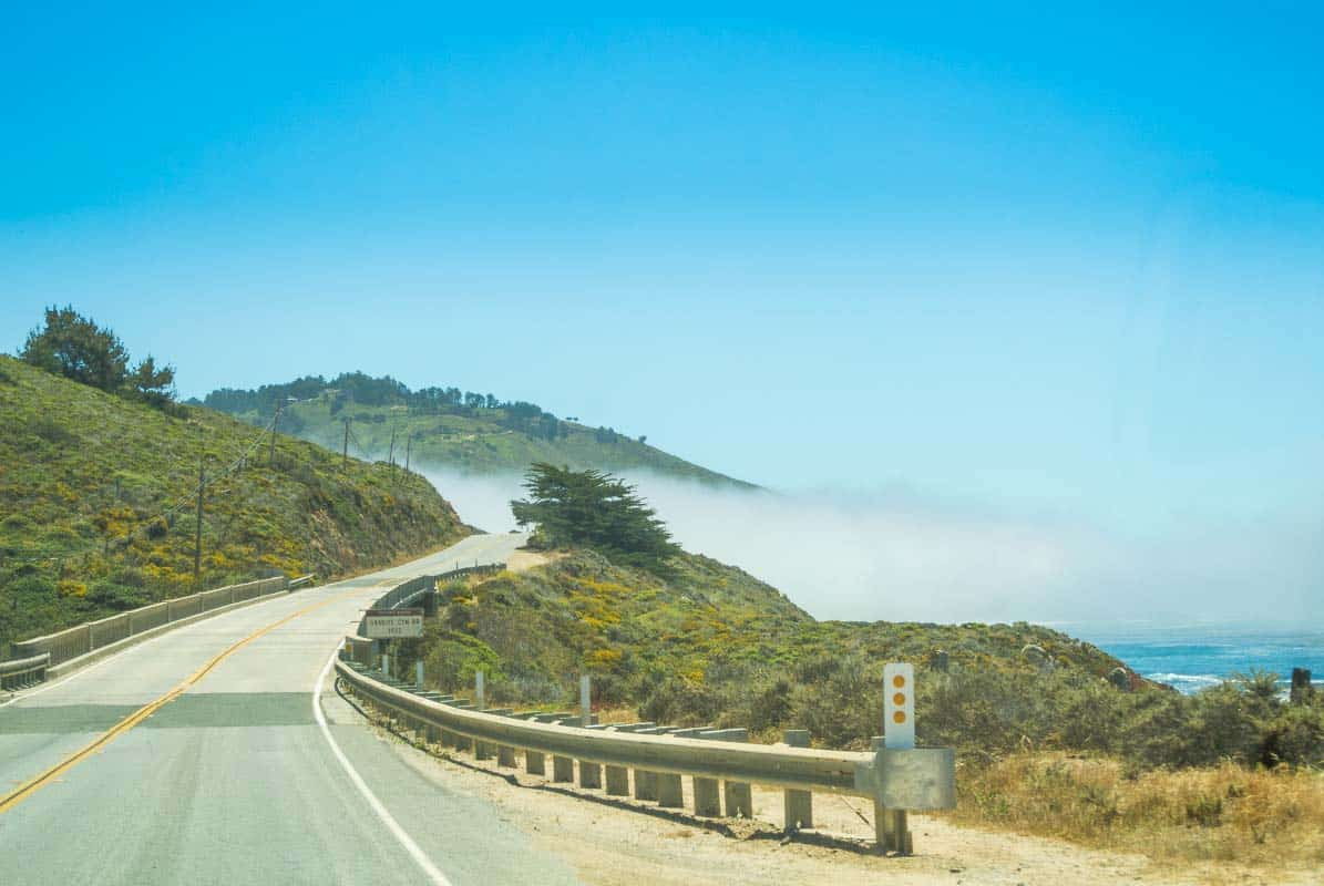 Road Trip Highway 1 fra Carmel til Big Sur - Californien, USA