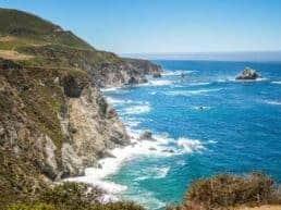 Road Trip Highway 1 fra Carmel til Big Sur - Californien, USA