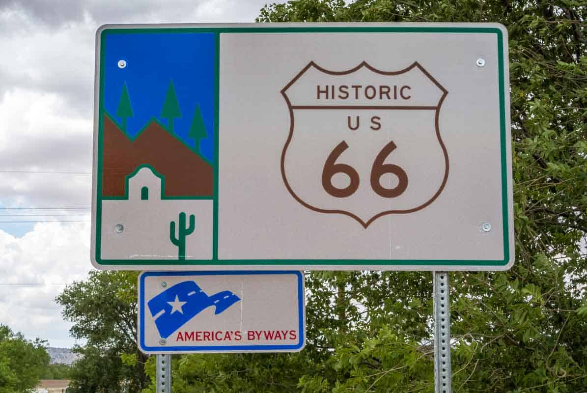 Road Trip Route 66 fra Flagstaff til Kingman - Arizona, USA‏