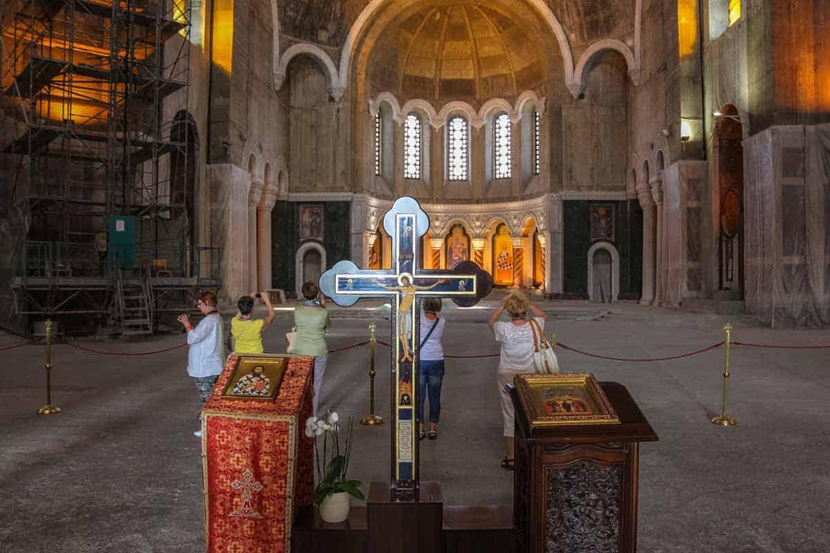 Saint Sava Tempel verdens største ortodokse kirke - Beograd, Serbien