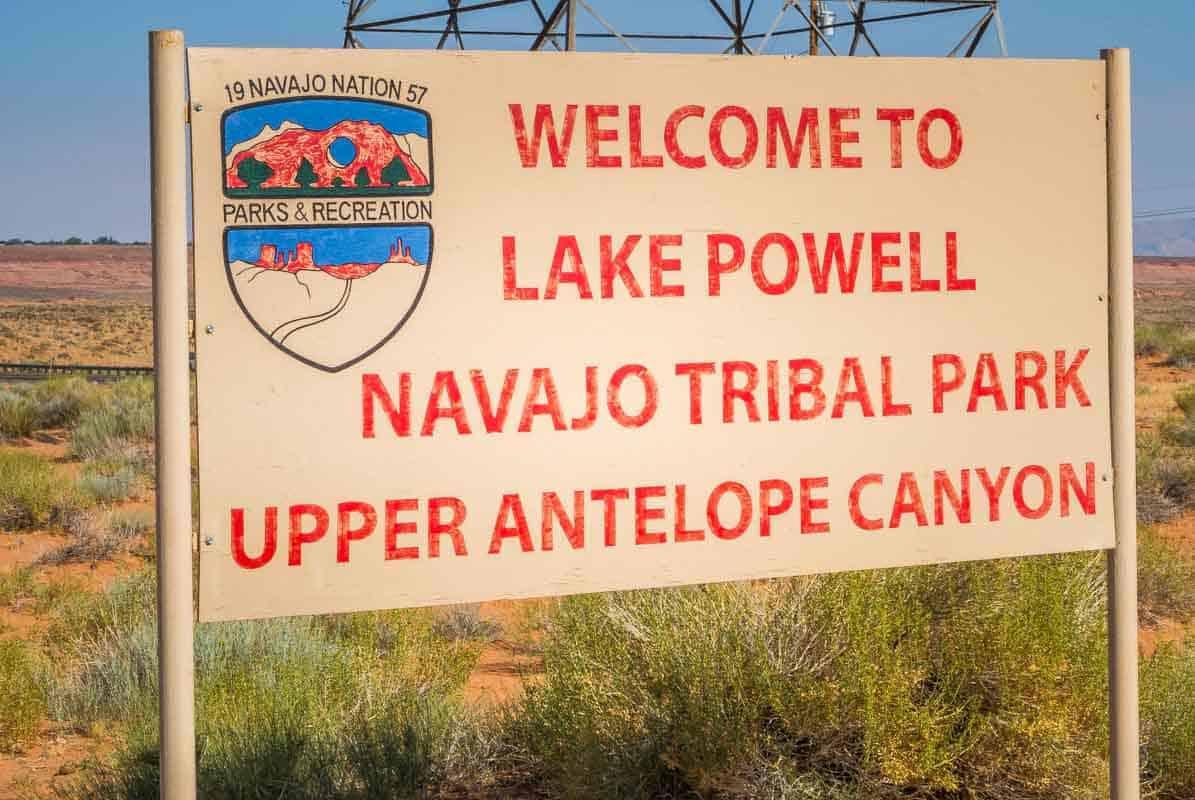 Smukke Antelope Canyon - Arizona, USA