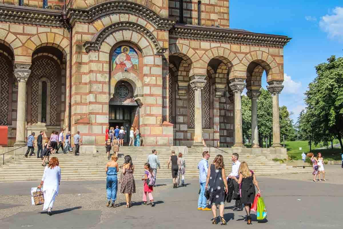 St. Marks kirken – Beograd, Serbien