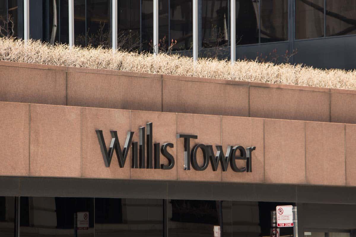 Willis Tower var verdens højeste skyskraber i 25 år – Chicago, USA