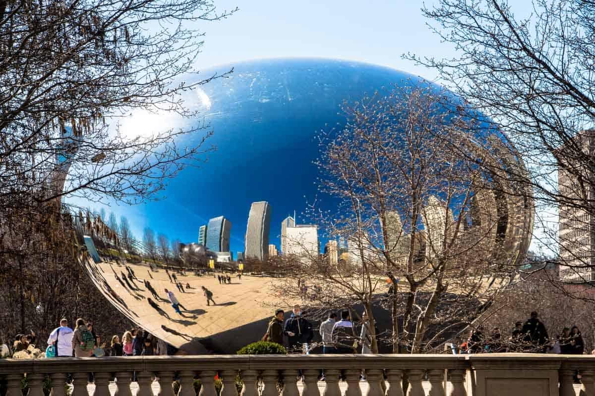 12 Postkort fra Chicago - USA