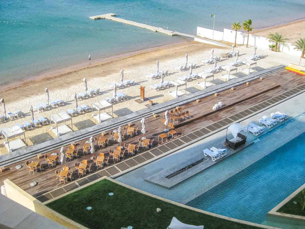 Anmeldelse af Kempinski hotel - Aqaba, Jordan