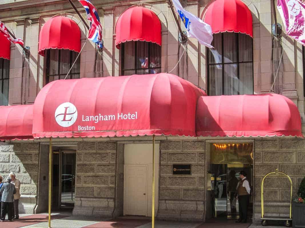 Anmeldelse af The Langham - Boston, USA