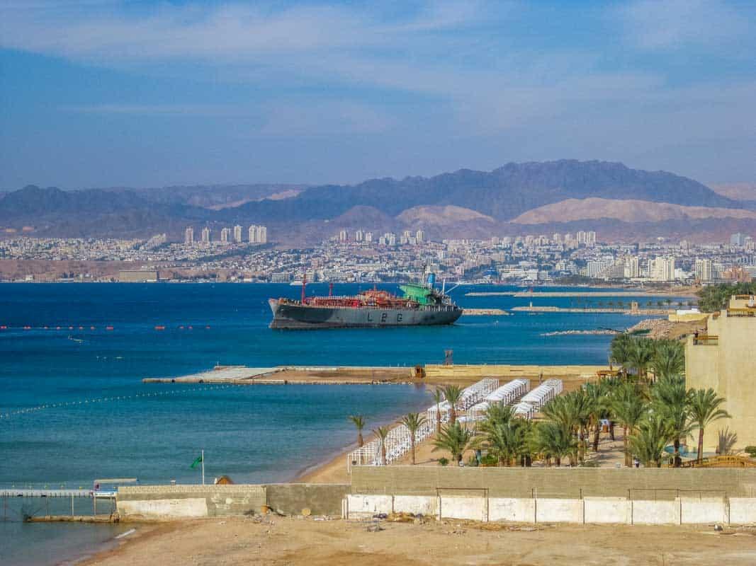 Aqaba byen ved havet - Jordan