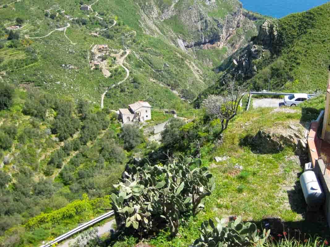 Bjergbyerne Castelmola og Savoca – Sicilien, Italien