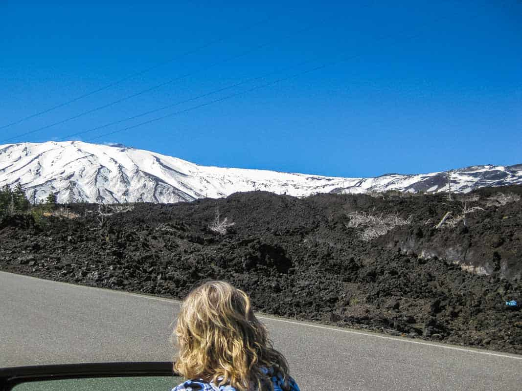 Etna den ulmende vulkan – Sicilien, Italien