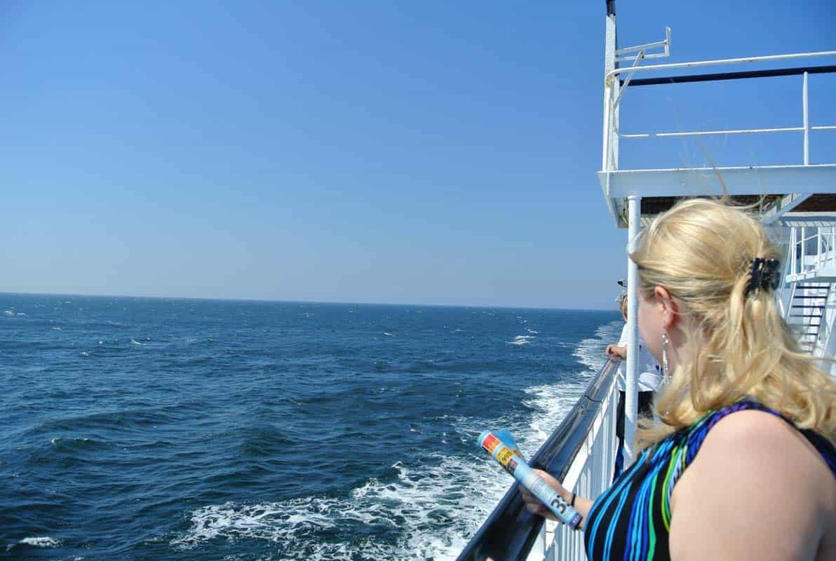 Færgen Gedser Rostock - Danmark og Tyskland