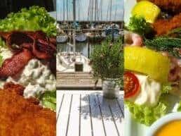 Anmeldelse af frokost på Jenners Seaside – Mosede Havn ved Greve, Danmark