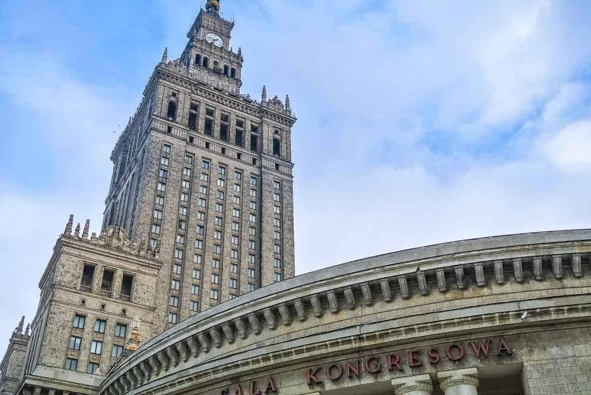Kulturpaladset er ikke kønt men ikonisk - Warszawa, Polen