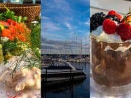 Anmeldelse af middag på Jenners Seaside - Mosede Havn ved Greve, Danmark