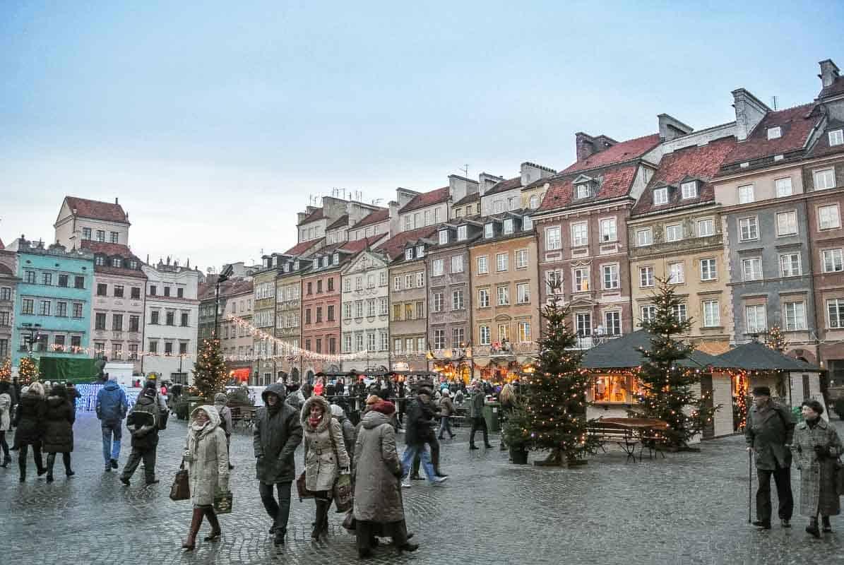 Stare Miasto den gamle bydel - Warszawa, Polen