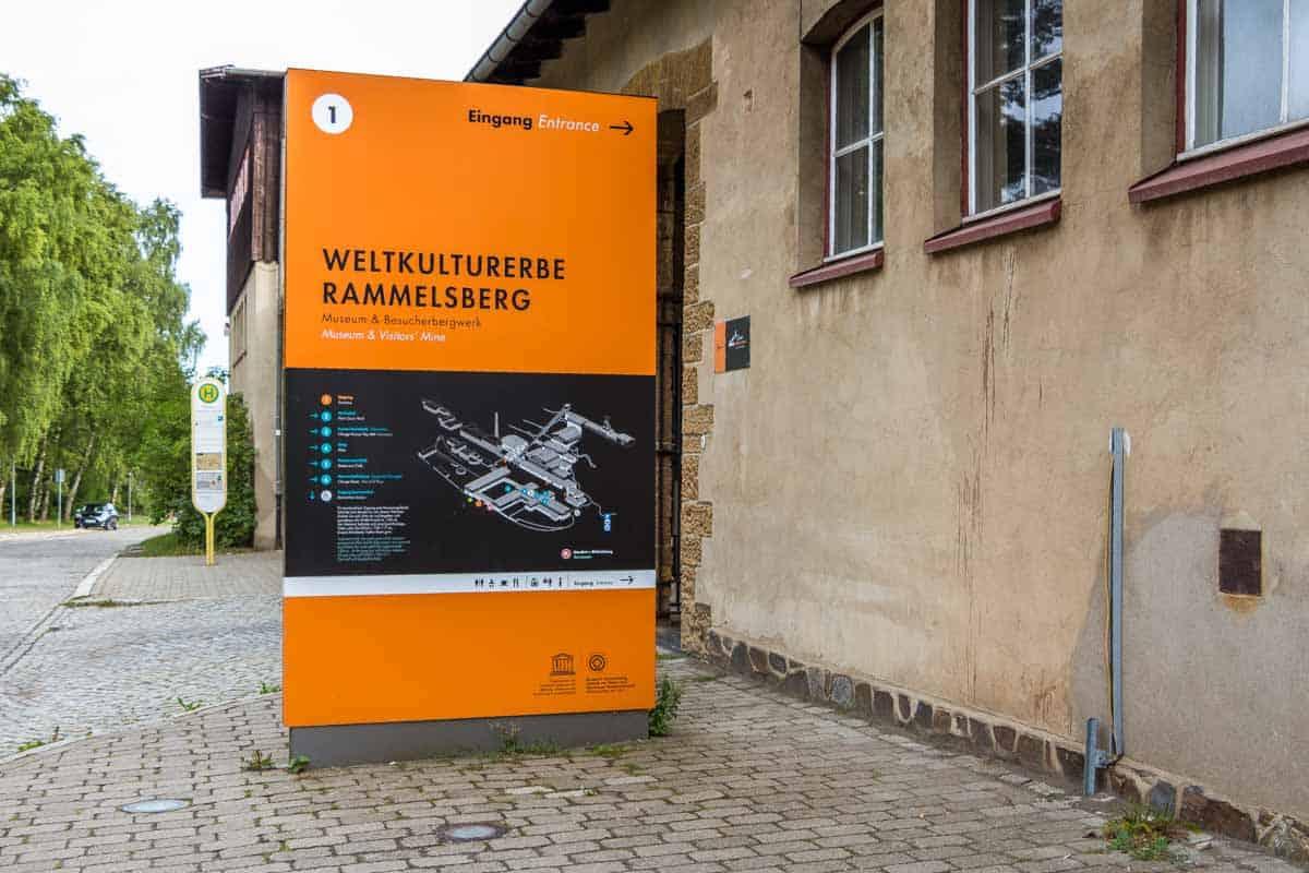 UNESCO-minen Rammelsberg – Goslar, Tyskland