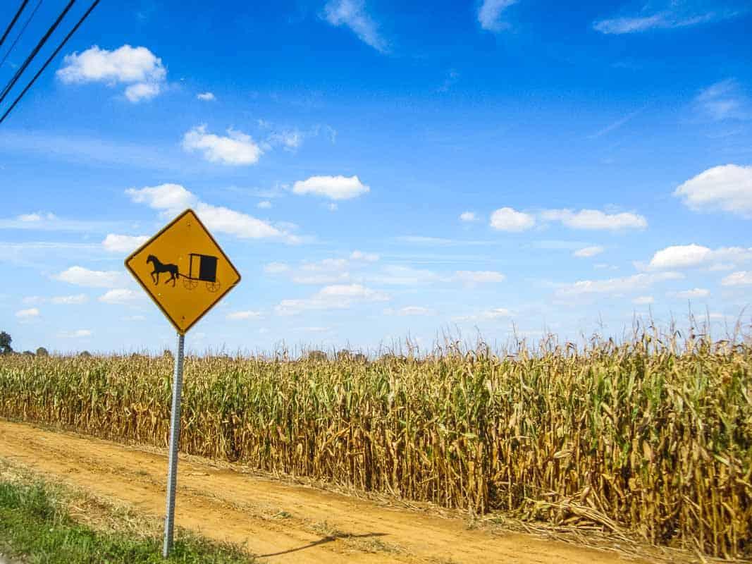 Amishland i Lancaster – Pennsylvania, USA
