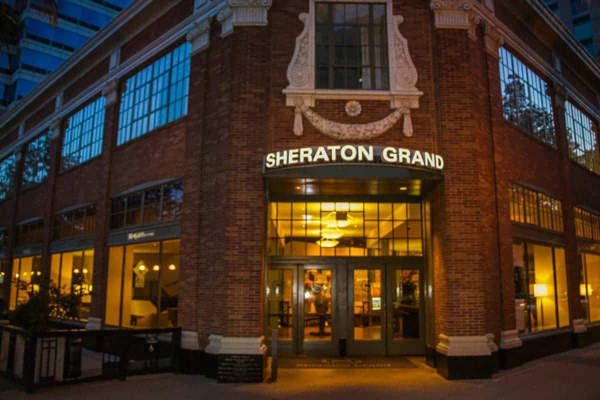 Anmeldelse af Sheraton Grand - Sacramento, USA