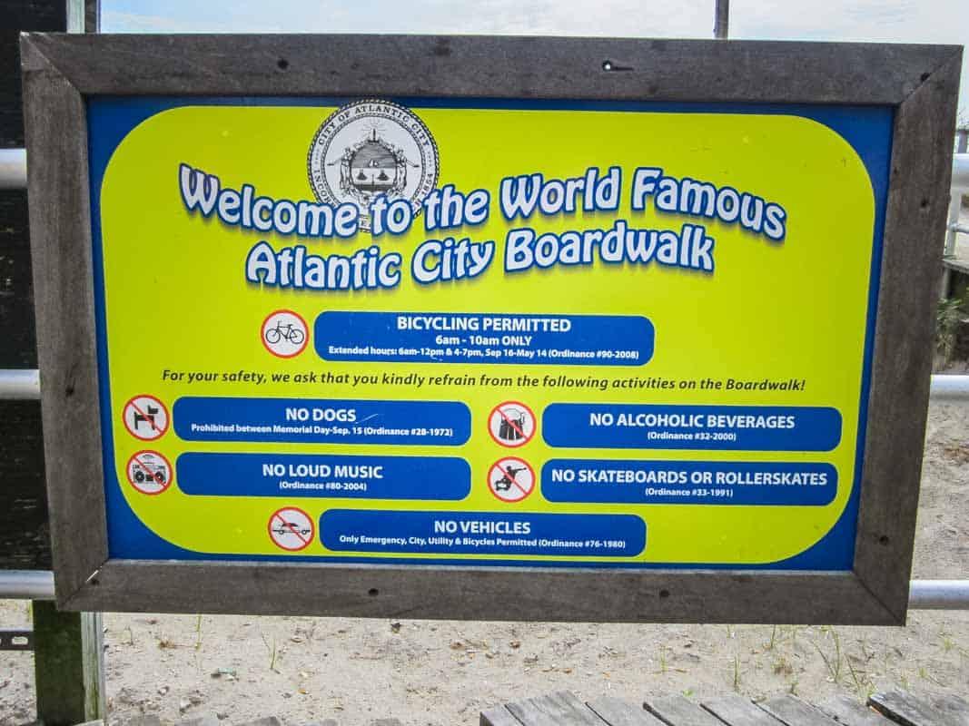 Atlantic City østkystens svar på Las Vegas – New Jersey, USA
