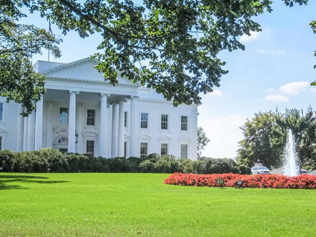 Det Hvide Hus og monumenterne - Washington D.C