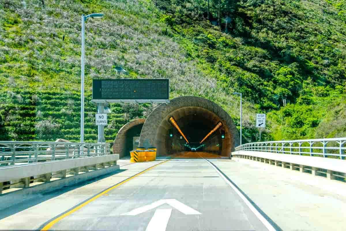 Devil's Slide og Highway 1 - Californien, USA